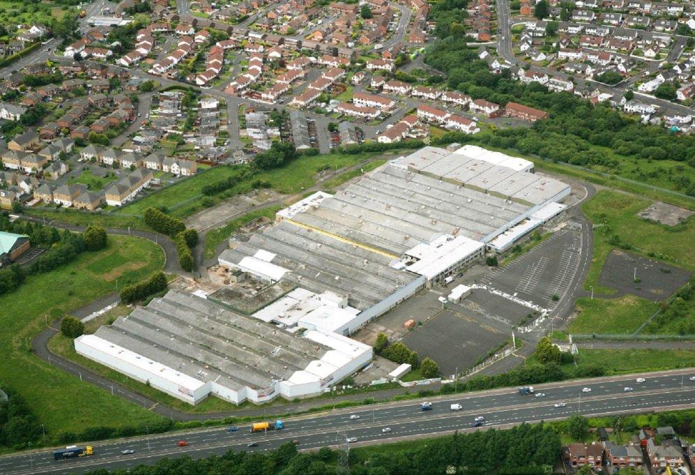 Former Visteon Factory, Belfast